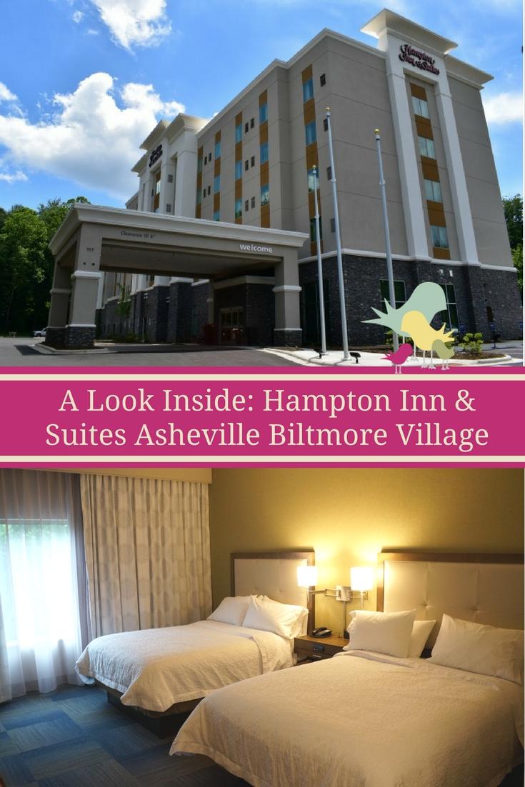 A Look Inside: Hampton Inn & Suites Asheville Biltmore Village  #VisitAsheville