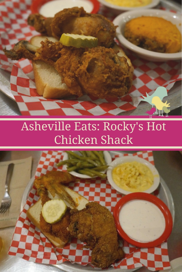 Ready for HOT fried chicken in #Asheville, North Carolina? Check out Rocky's Hot Chicken Shack   #exploreasheville