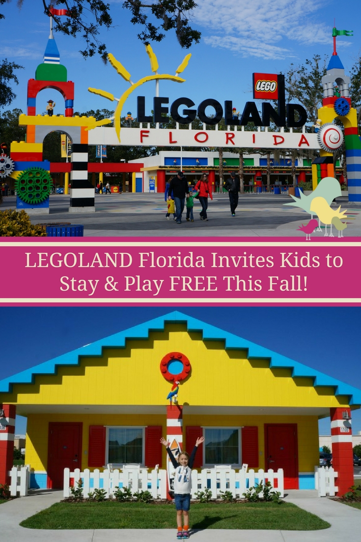 Deal Alert: LEGOLAND Florida Invites Kids to Stay & Play FREE This Fall!