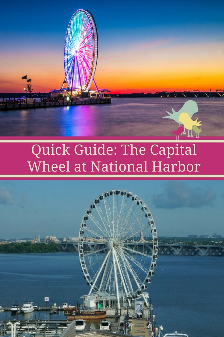 Check out what to expect, ticket info and what you'll see onboard The Capital Wheel in National Harbor, Maryland, just outside of Washington, D.C.