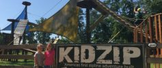 Asheville Adventure Center - KidZip Sign