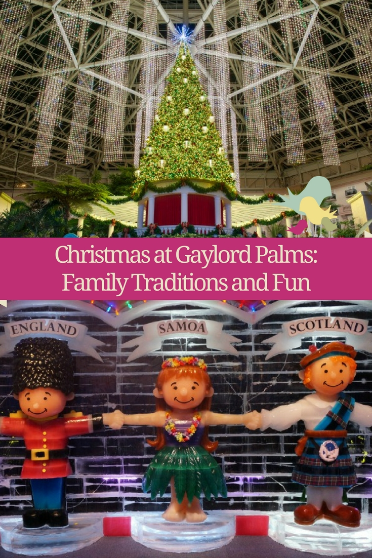Christmas at @GaylordPalms: Family Traditions and Fun -- and Santa!  #CAGP17