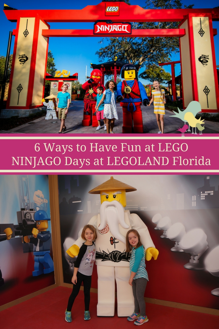 6 Ways to Have Fun at LEGO NINJAGO Days at LEGOLAND Florida  #NINJAGODays