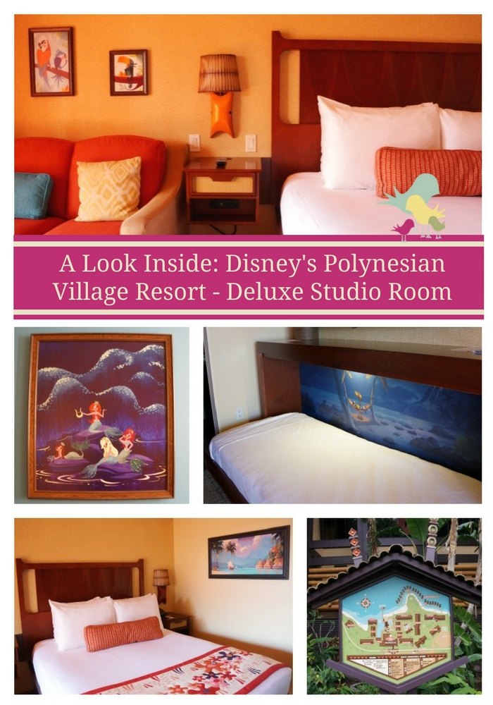 Take a look inside Disney's Polynesian Village Resort - Deluxe Studio Room   #WDW #Disney