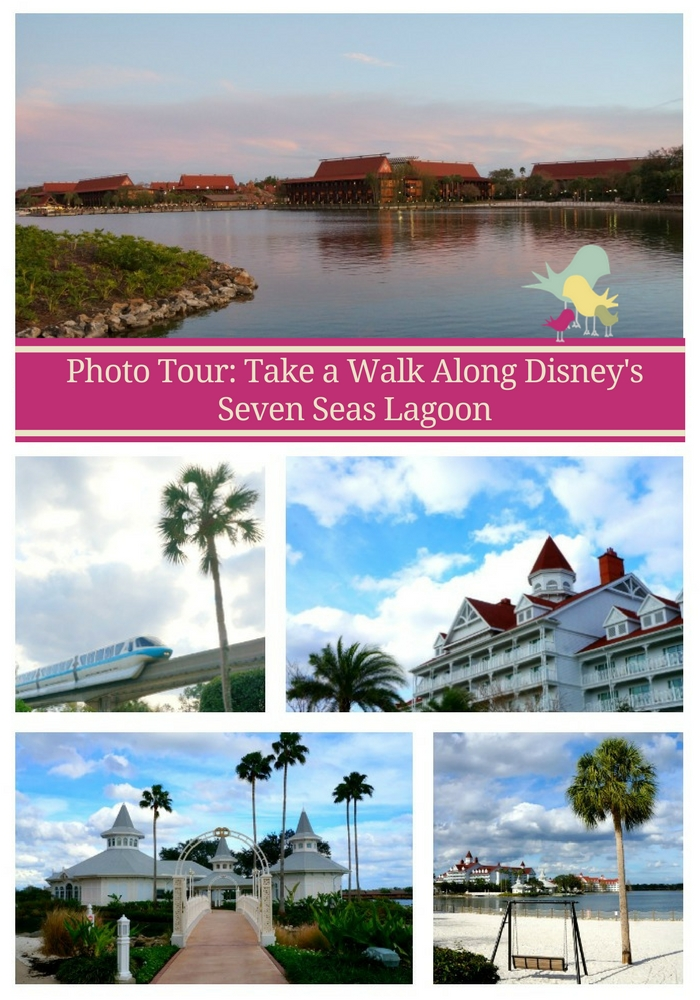Photo Tour: Take a Walk Along Disney's Seven Seas Lagoon