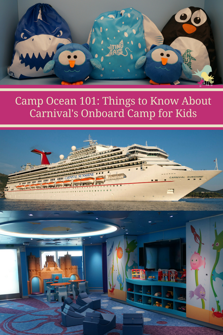 Camp Ocean 101: Things to Know about Carnival\'s Onboard Camp for Kids  #CruisingCarnival   #cruise #carnivalcruise