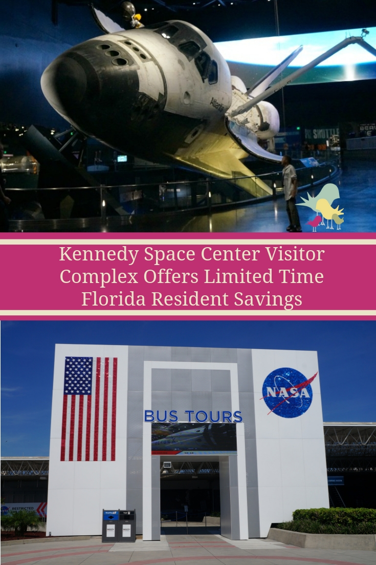 Kennedy Space Center Visitor Complex Offers Limited Time Florida Resident Savings