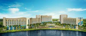Surfside Inn and Suites Exterior Rendering- credit Universal Orlando Resort