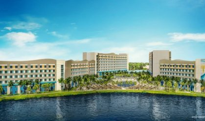 Surfside Inn and Suites Exterior Rendering- credit Universal Orlando Resort