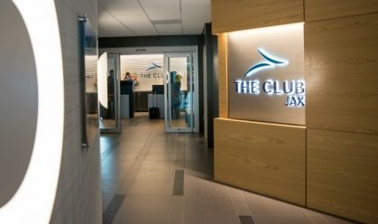 The Club JAX Entrance at Jacksonville International Airport