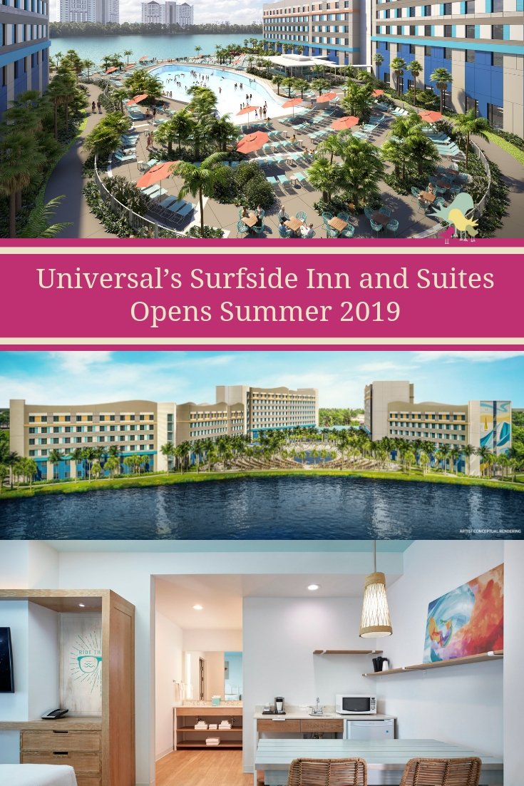 Universal's Endless Summer Resort – Surfside Inn and Suites Opens Summer 2019