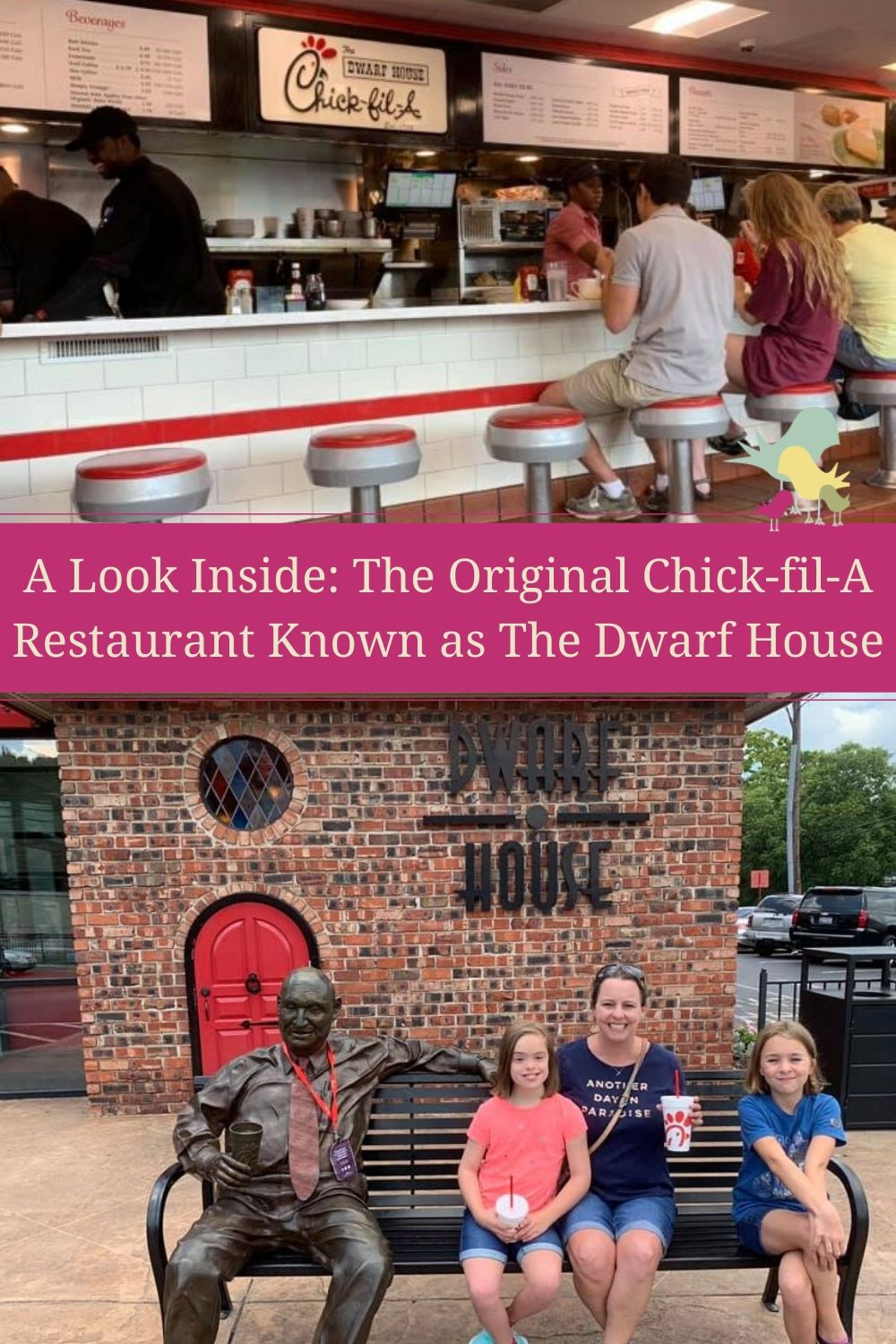 A Look Inside: The Original Chick-fil-A Restaurant Known as The Dwarf House